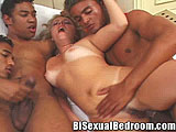 Bisexual Couple Orgy